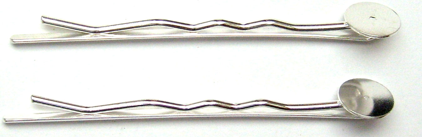 Lot de 2 barrettes à coller