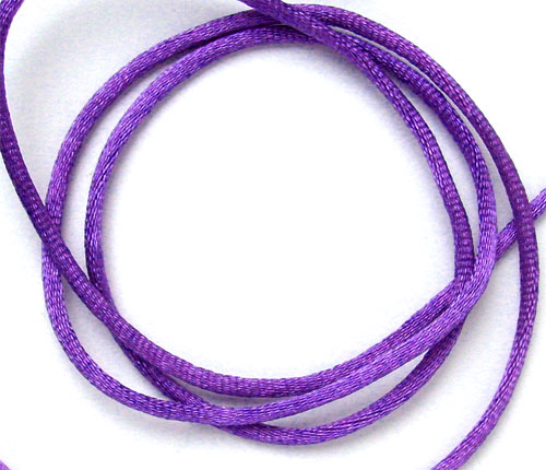 2m de queue de rat 2mm violet